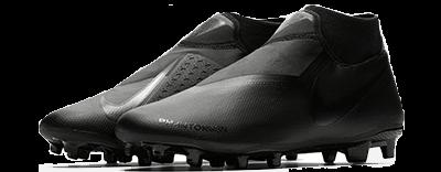 Chaussure de foot Nike Phantom Vision DF MG noire adulte