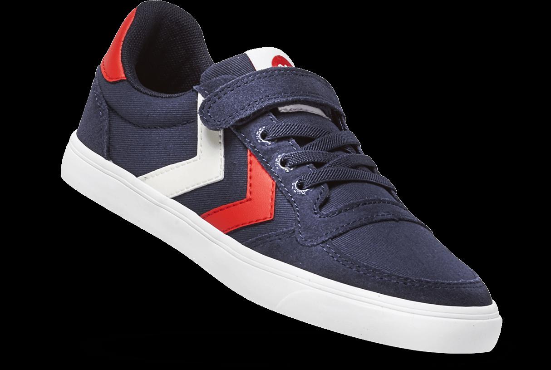 594488a1e924a Chaussures enfant Hummel Slimmer Stadil Low en Soldes chez Intersport