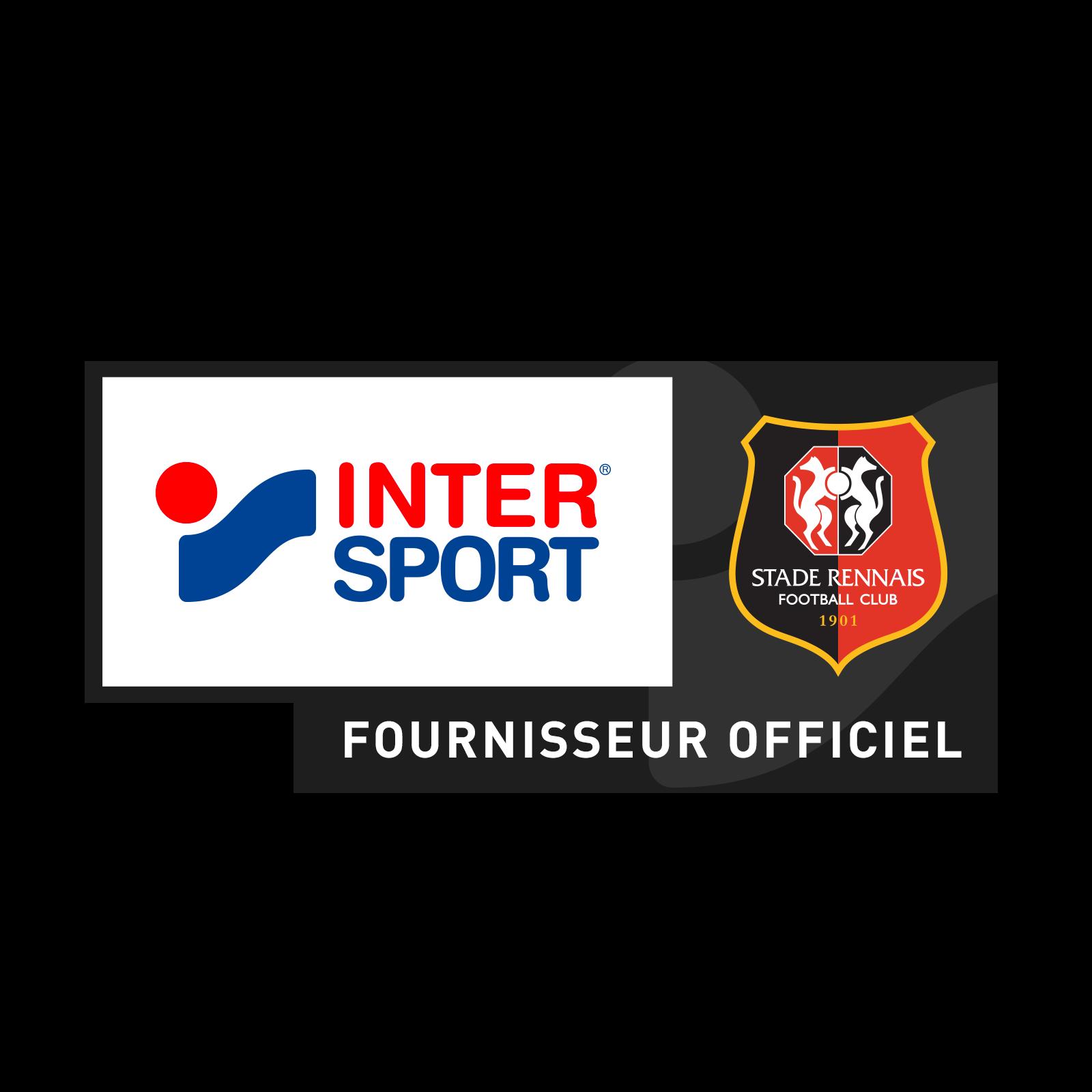 Flocage sponsor INTERSPORT noir poitrine