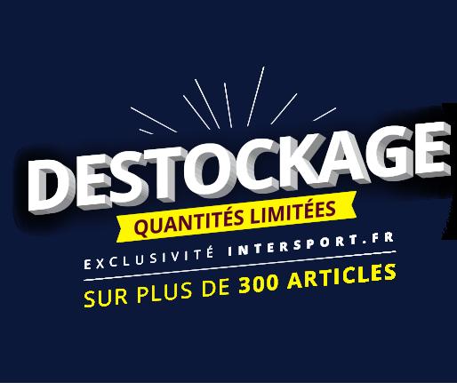 Déstockage ! Sur plus de 600 articles lifestyle et sport